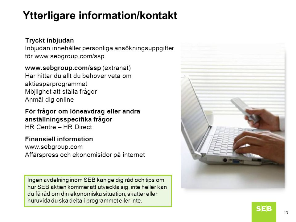 Ytterligare information/kontakt