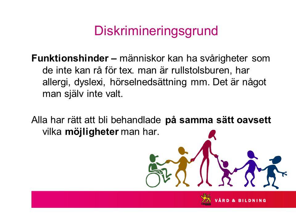 Diskrimineringsgrund