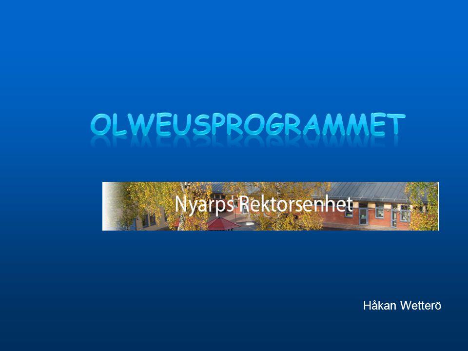 Olweusprogrammet Håkan Wetterö 1