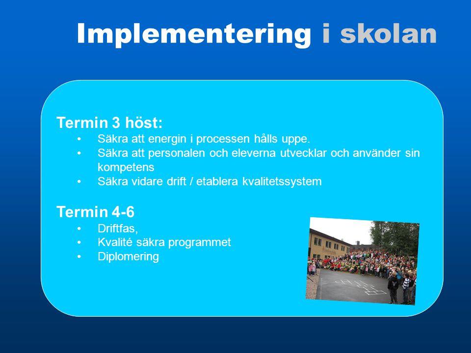 Implementering i skolan