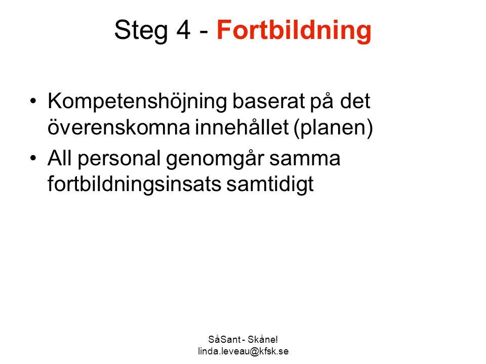 SåSant - Skåne! linda.leveau@kfsk.se