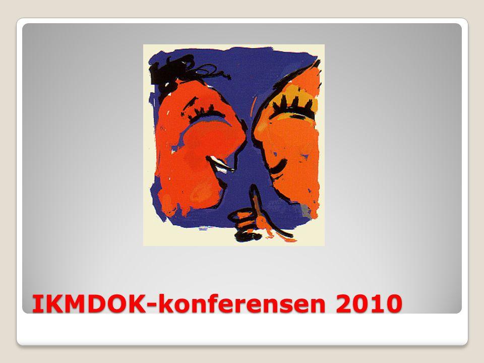 IKMDOK-konferensen 2010