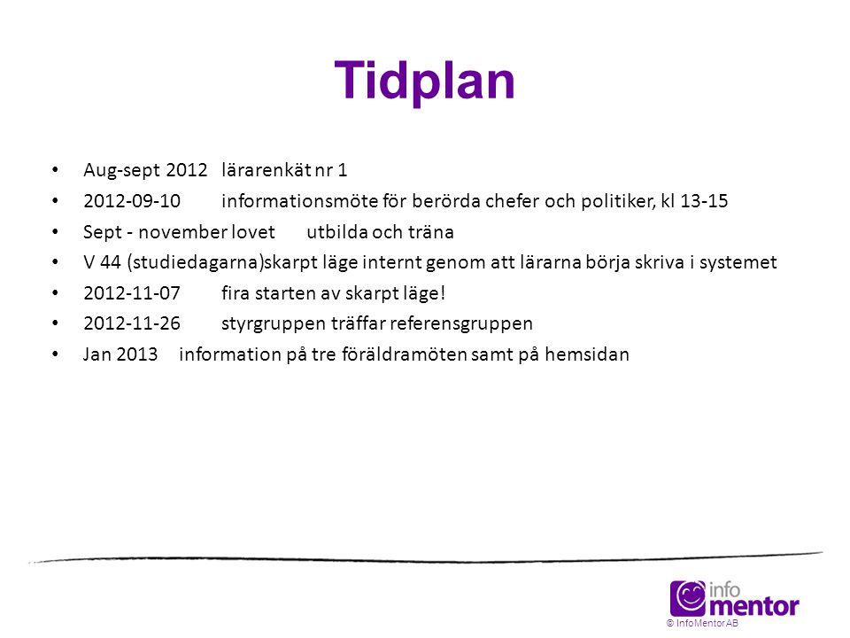 Tidplan Aug-sept 2012 lärarenkät nr 1