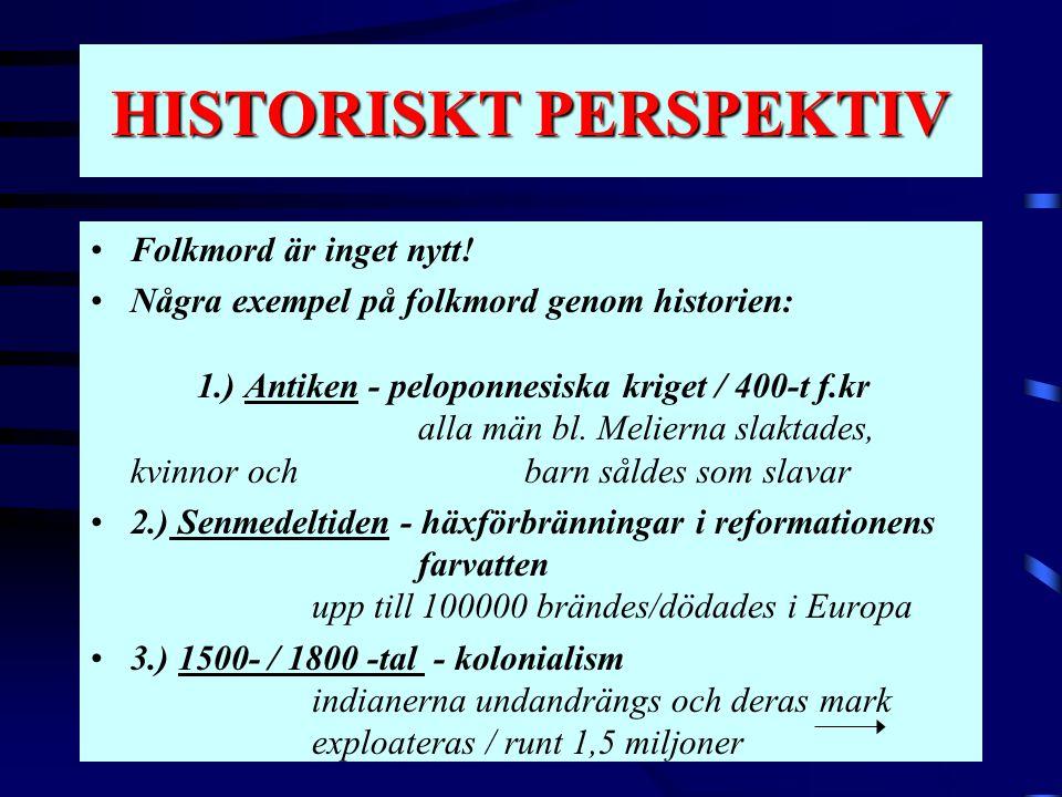 HISTORISKT PERSPEKTIV