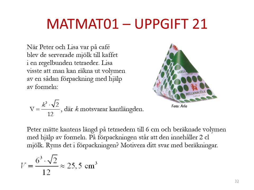 MATMAT01 – UPPGIFT 21