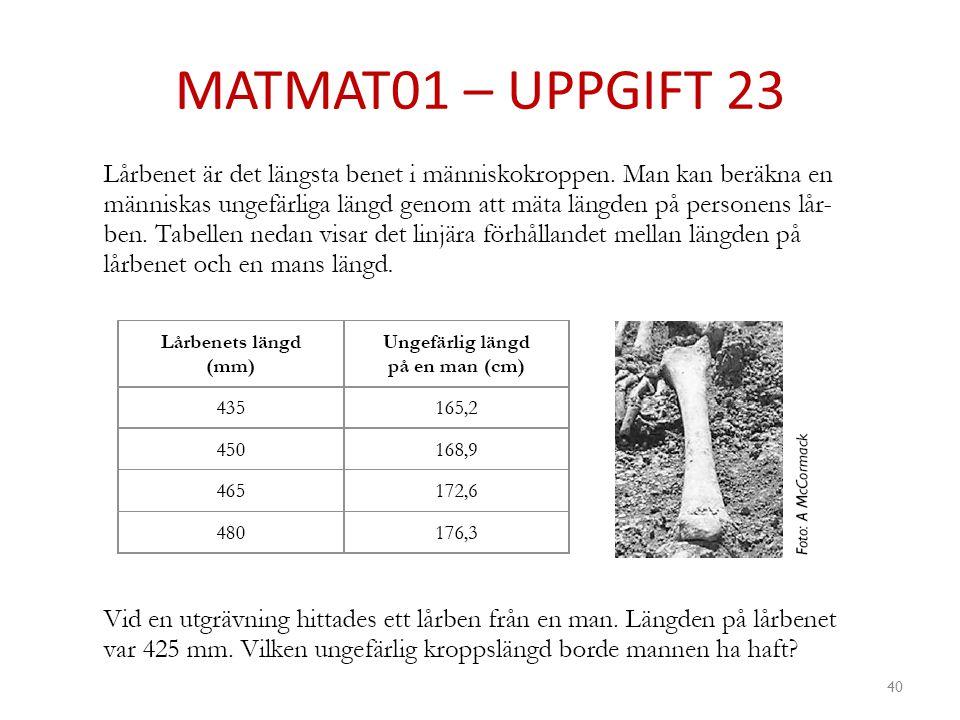 MATMAT01 – UPPGIFT 23