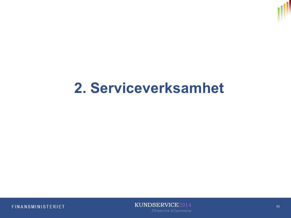 2. Serviceverksamhet