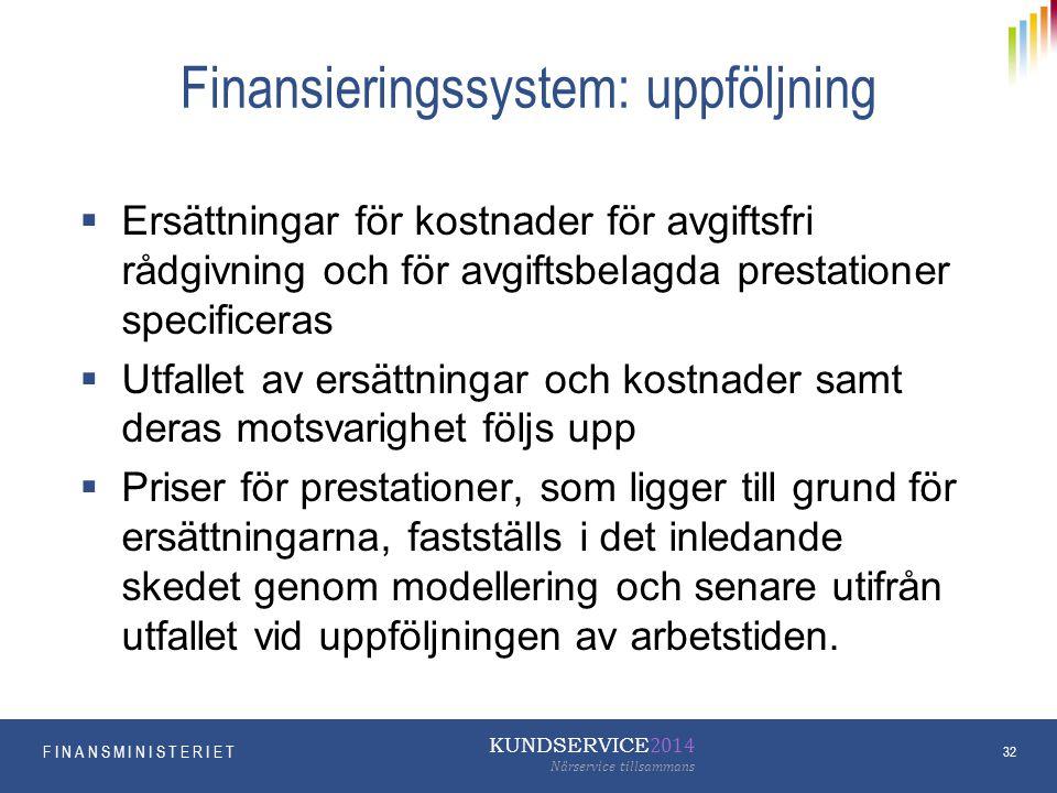 Finansieringssystem: uppföljning