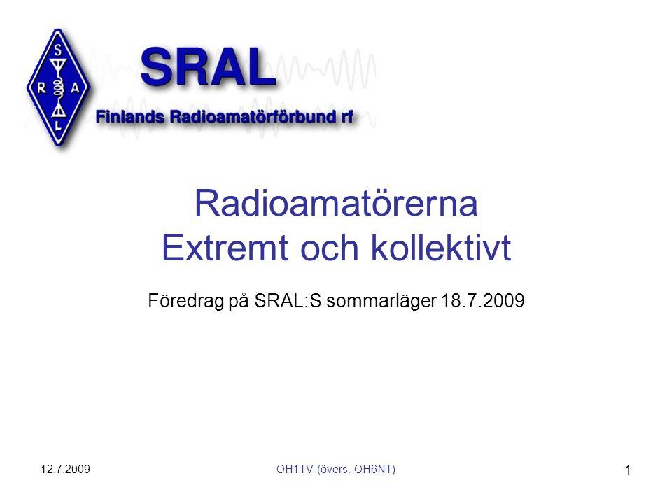 Radioamatörerna Extremt och kollektivt