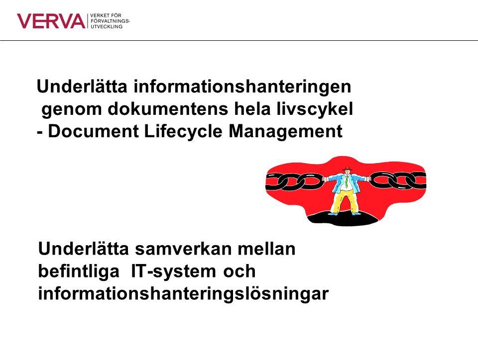 Underlätta informationshanteringen