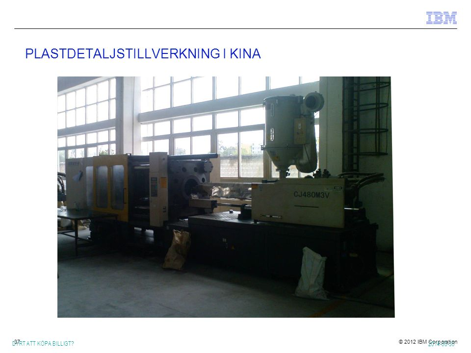 PLASTDETALJSTILLVERKNING I KINA