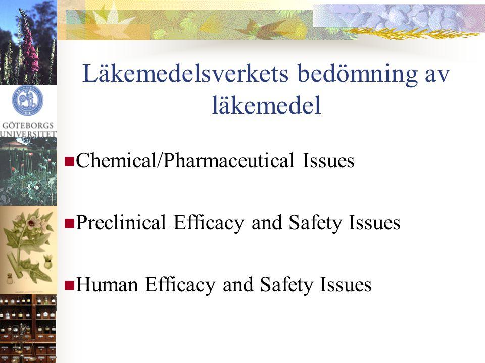 Läkemedelsverkets bedömning av läkemedel