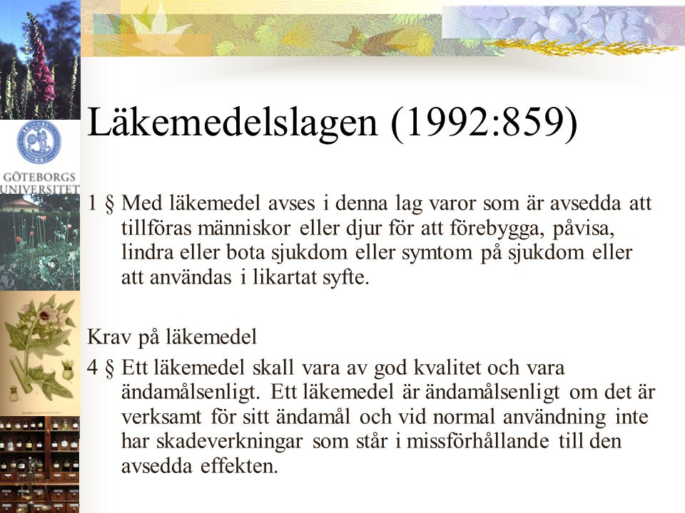 Läkemedelslagen (1992:859)