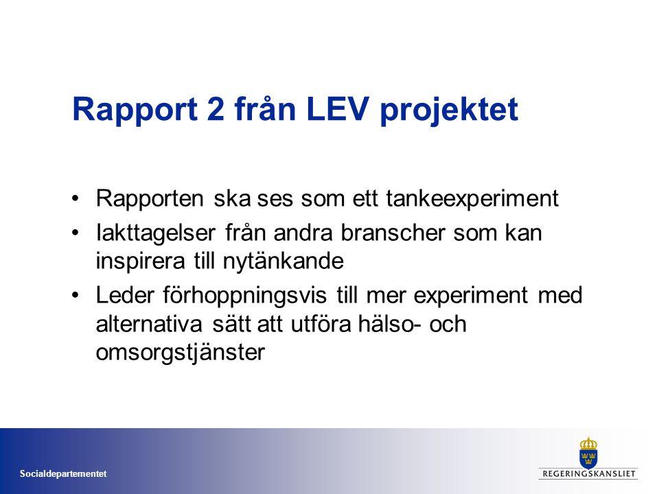 Rapport 2 från LEV projektet