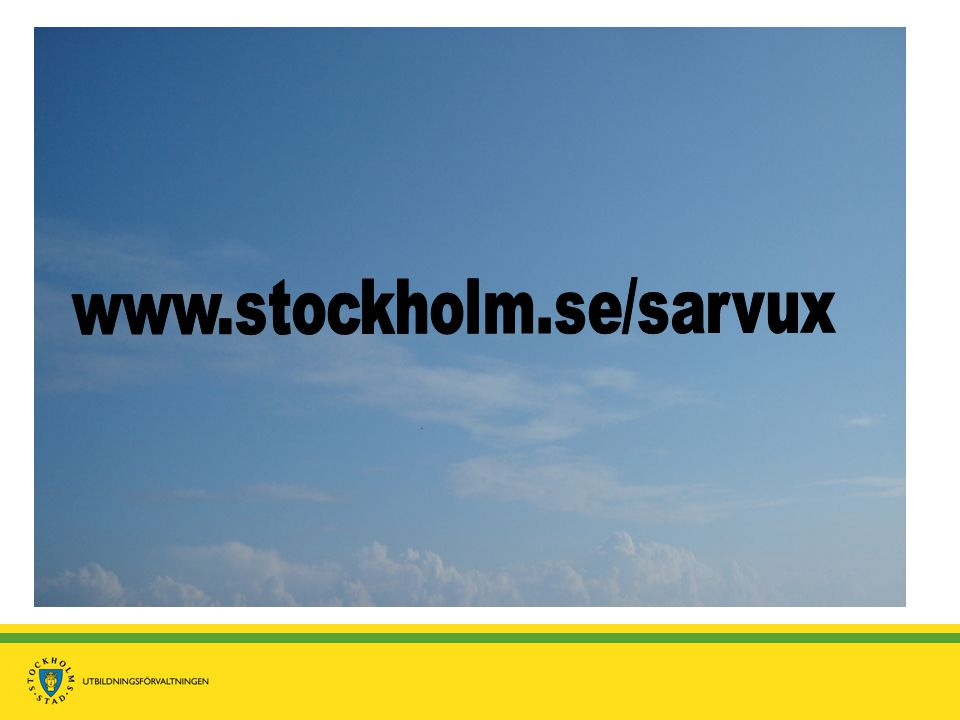 www.stockholm.se/sarvux