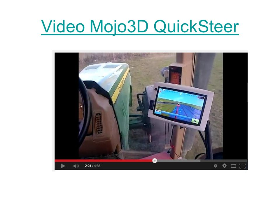 Video Mojo3D QuickSteer