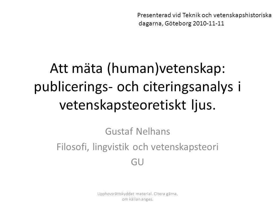 Gustaf Nelhans Filosofi, lingvistik och vetenskapsteori GU