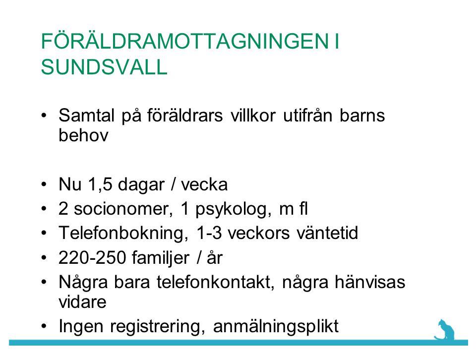 FÖRÄLDRAMOTTAGNINGEN I SUNDSVALL