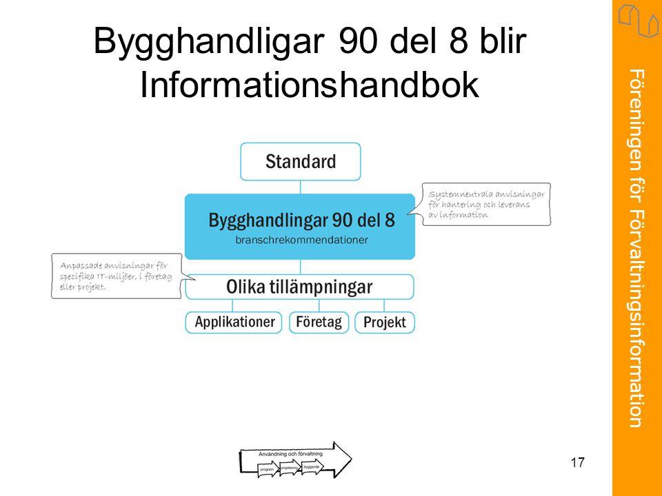Bygghandligar 90 del 8 blir Informationshandbok