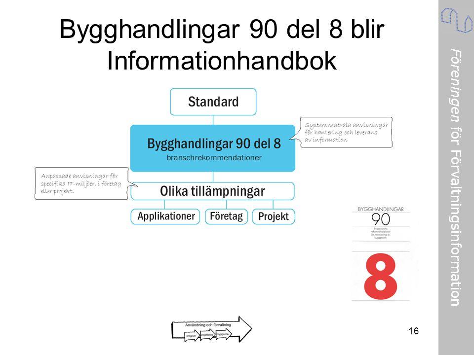 Bygghandlingar 90 del 8 blir Informationhandbok