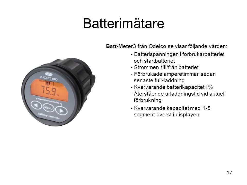 Batterimätare