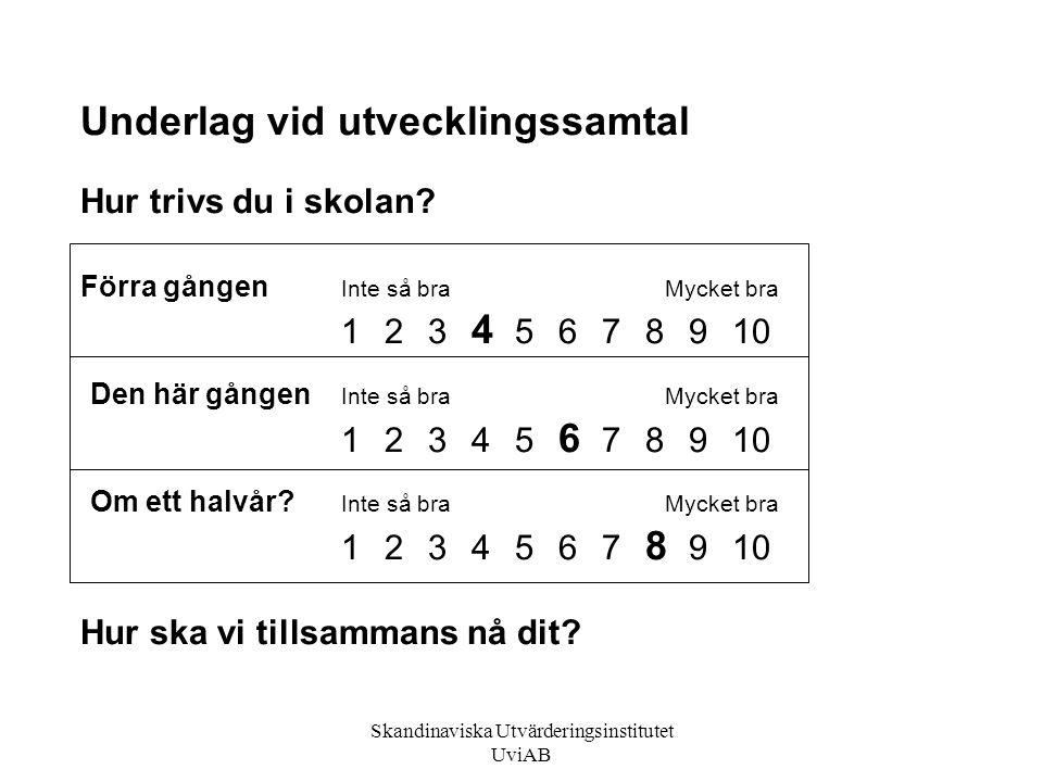 Skandinaviska Utvärderingsinstitutet UviAB
