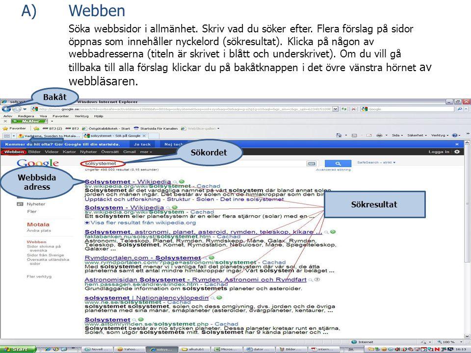 A) Webben