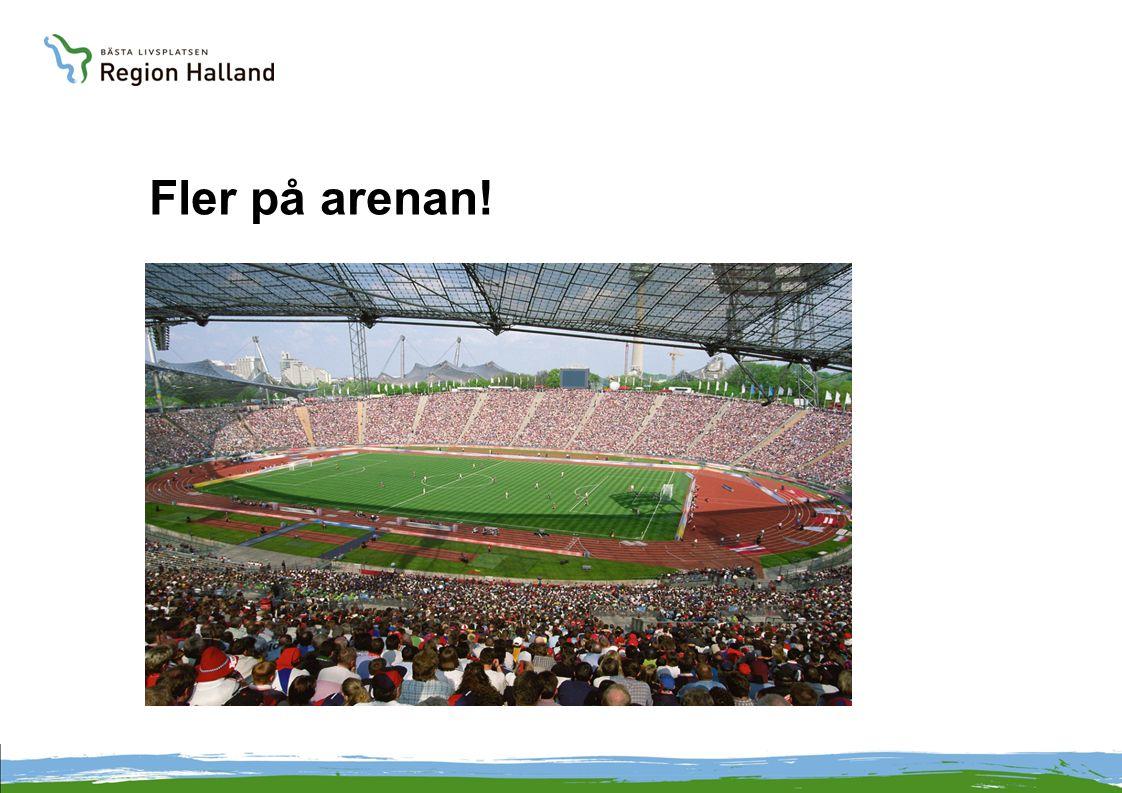 Fler på arenan!
