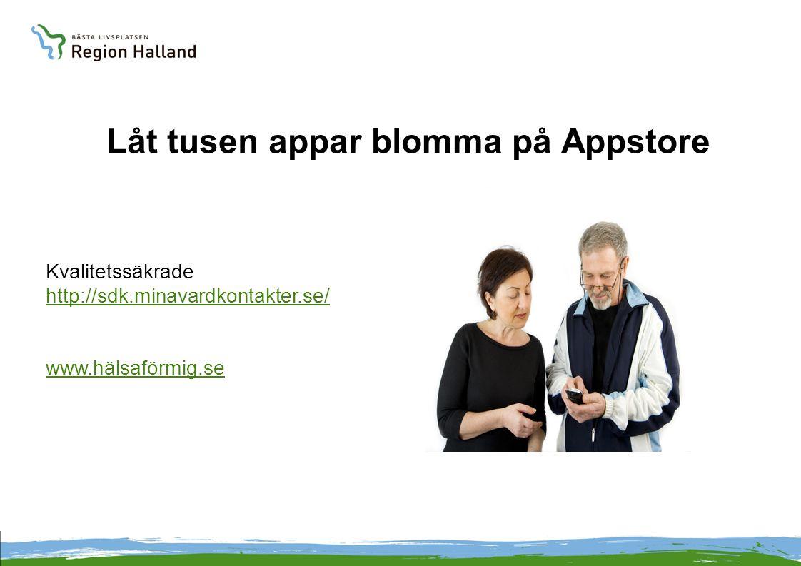 Låt tusen appar blomma på Appstore