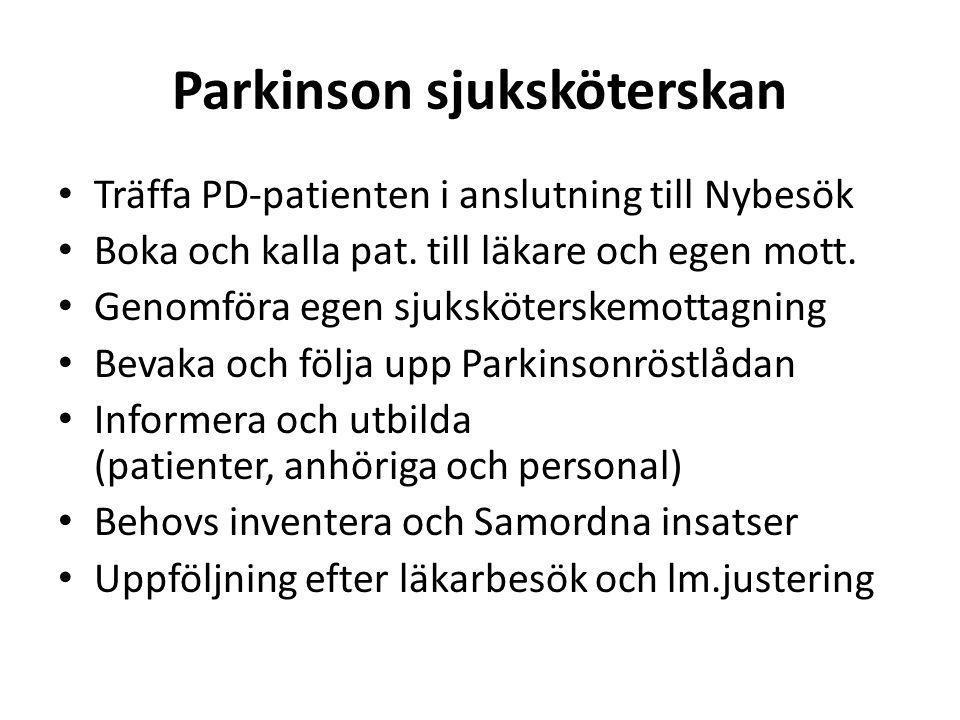 Parkinson sjuksköterskan