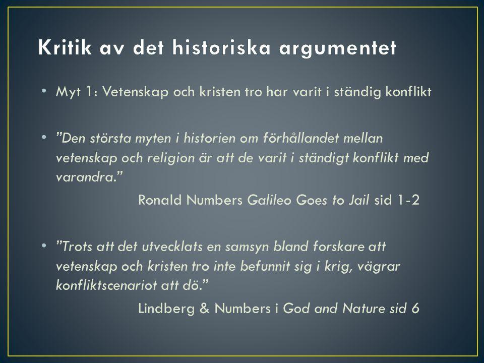 Kritik av det historiska argumentet