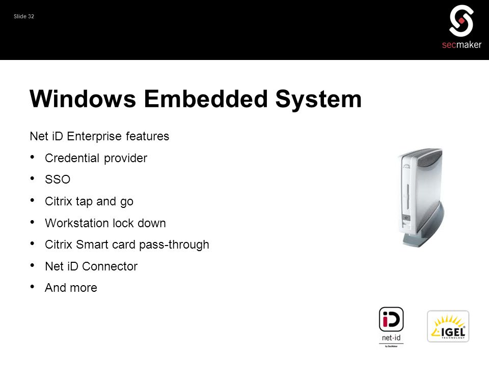 Windows Embedded System
