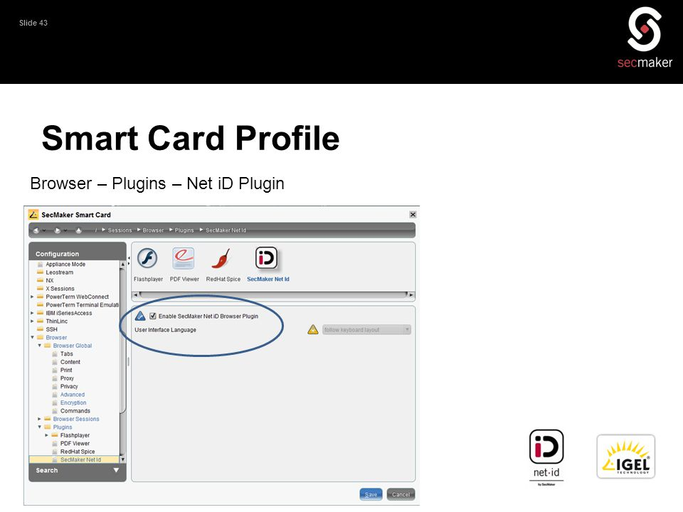 Smart Card Profile Browser – Plugins – Net iD Plugin