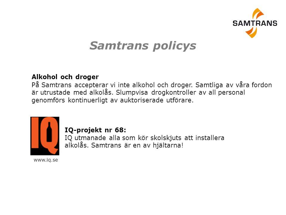 Samtrans policys