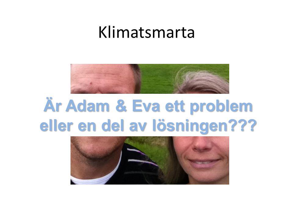Är Adam & Eva ett problem eller en del av lösningen