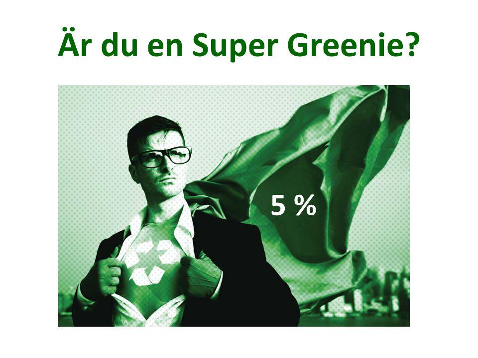 Är du en Super Greenie 5 %