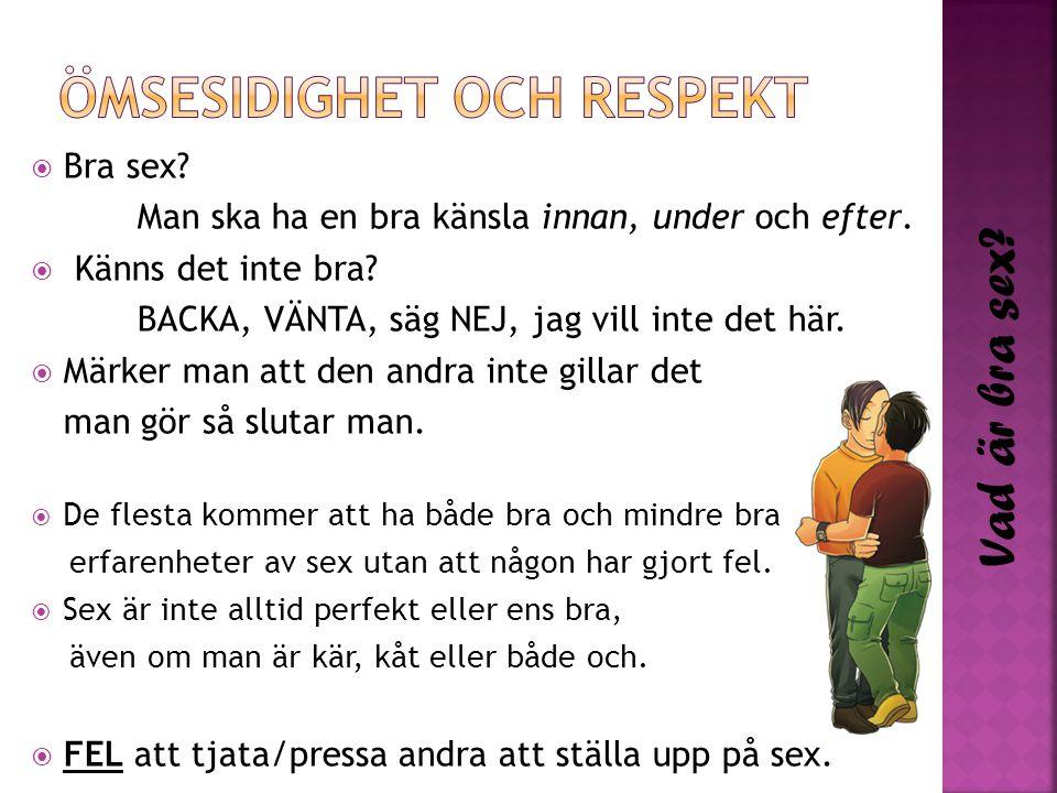Ömsesidighet och respekt