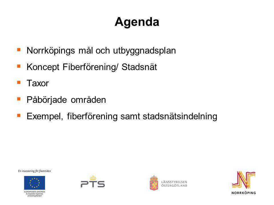 Agenda Norrköpings mål och utbyggnadsplan