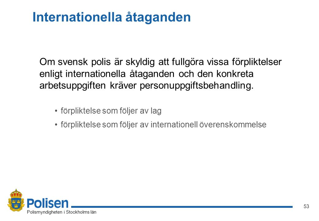 Internationella åtaganden