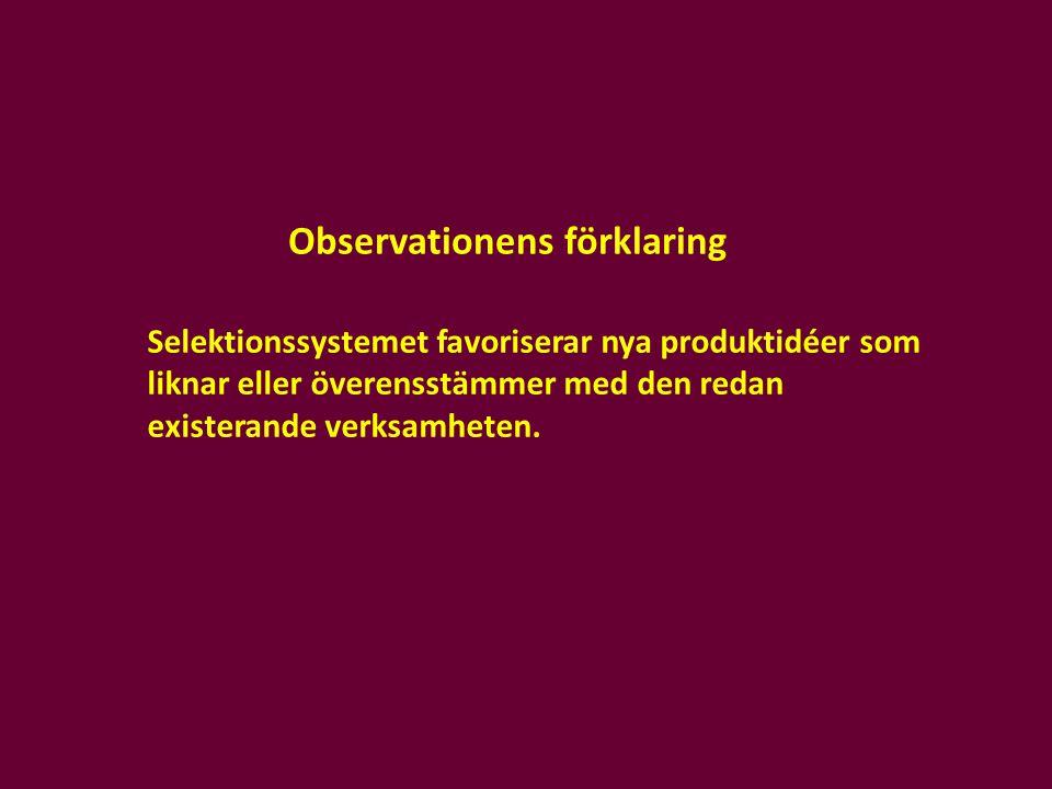 Observationens förklaring