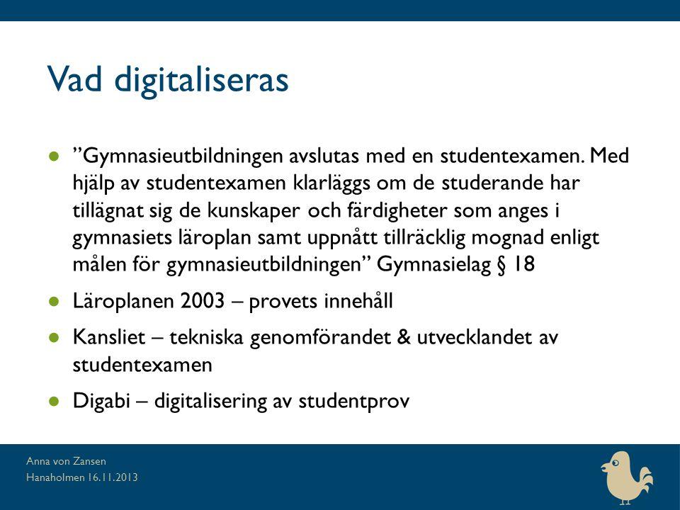 Vad digitaliseras