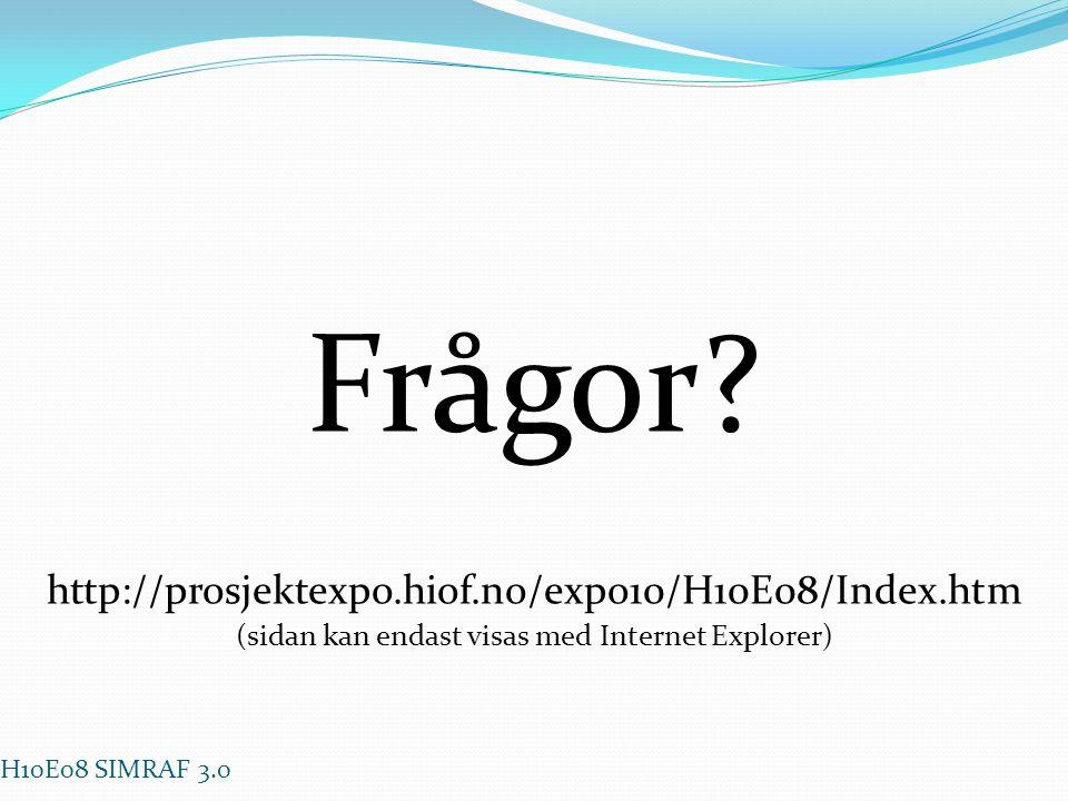 (sidan kan endast visas med Internet Explorer)