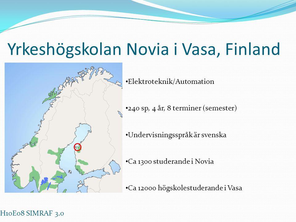 Yrkeshögskolan Novia i Vasa, Finland