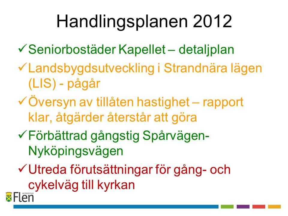 Handlingsplanen 2012 Seniorbostäder Kapellet – detaljplan
