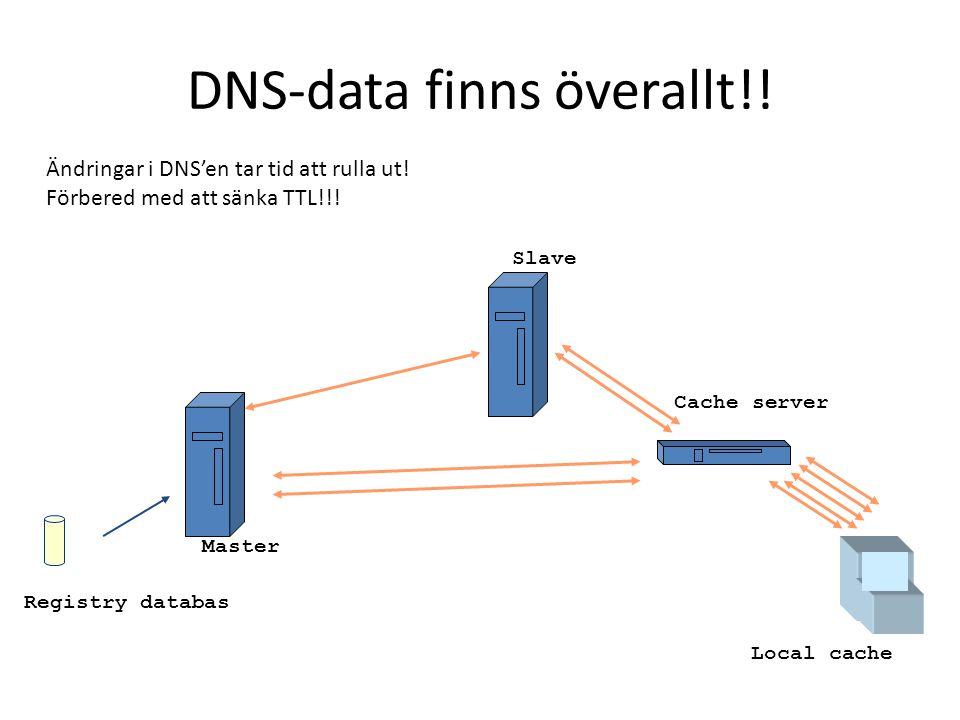 DNS-data finns överallt!!