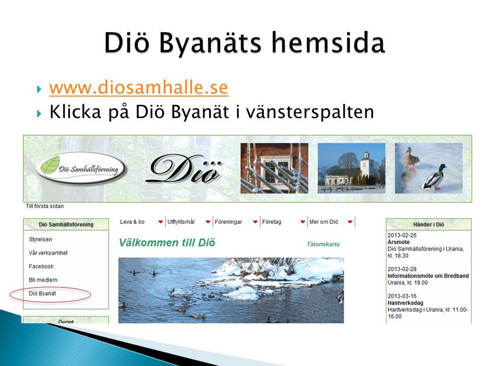 Diö Byanäts hemsida www.diosamhalle.se