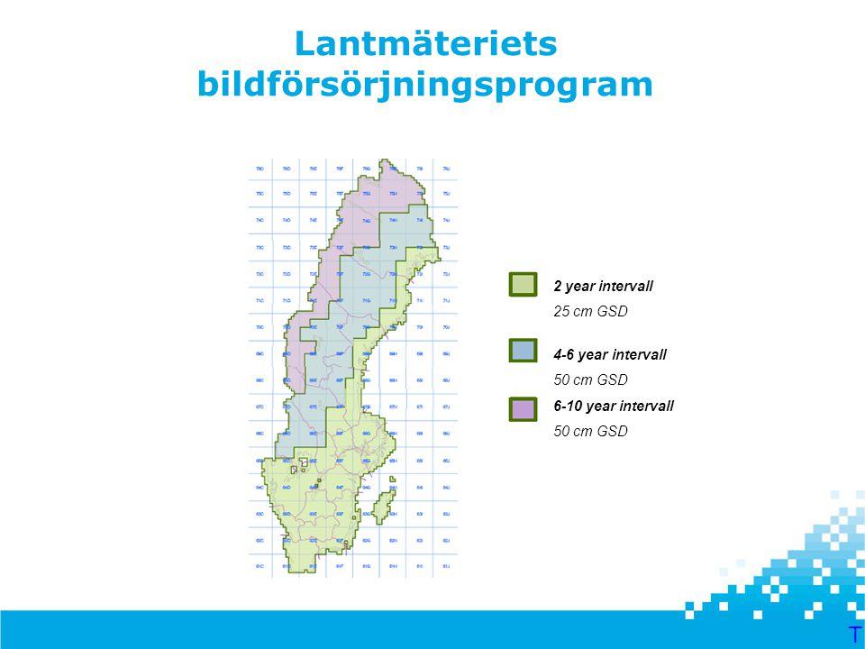 Lantmäteriets bildförsörjningsprogram