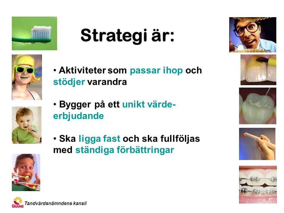 Strategi är: Aktiviteter som passar ihop och stödjer varandra
