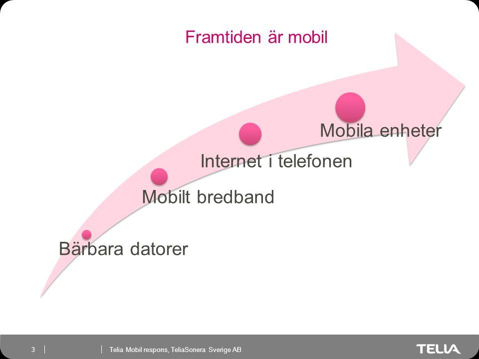 Bärbara datorer Mobilt bredband Internet i telefonen Mobila enheter