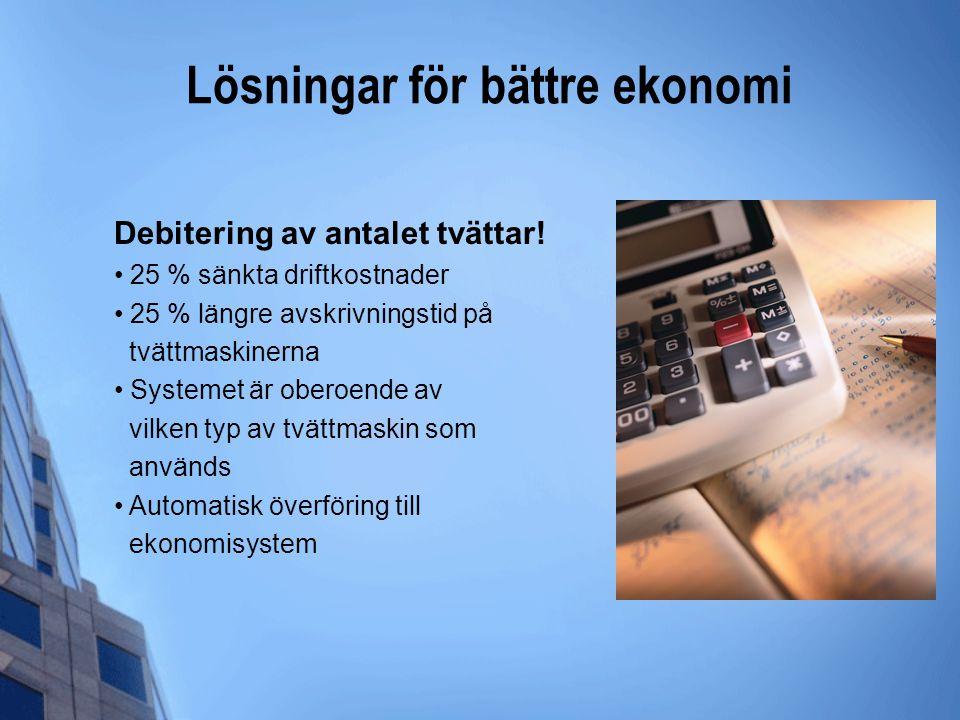 Lösningar för bättre ekonomi